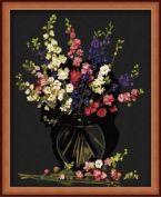 """Картина по номерам """"Ваза с цветами"""" 40х50"""