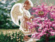 """Картина по номерам """"Ангел хранитель"""""""