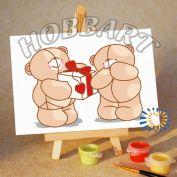 """Картина по номерам """"Подарок со смыслом"""" 10х15"""