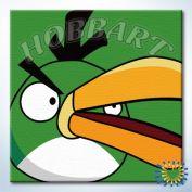 """Картина по номерам """"Angry Birds. Зеленый длинноклюв"""""""