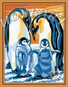 "Картина по номерам ""Пингвины"""