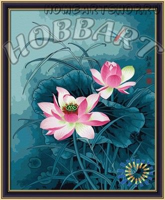 """Картина по номерам """"Цветок для стрекозы"""""""