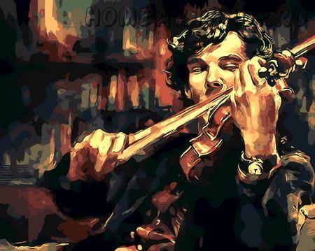 """Раскраска по номерам """"Шерлок Холмс"""""""
