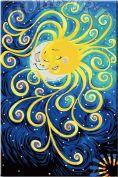 "Картина по номерам ""Солнце и луна"""