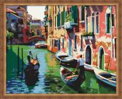 "Картина по номерам ""Прогулка по Венеции"""