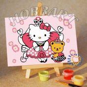 "Картина по номерам ""Hello Kitty. Китти-принцесса"""