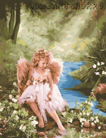 """Картина по номерам """"Лесной ангел"""""""