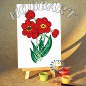"""Картина по номерам """"Фанфан тюльпан"""" 10х15"""