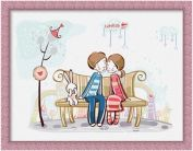 """Картина по номерам """"LOVE IS"""" 30х40"""
