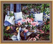 """Картина по номерам """"В саду"""" 40х50"""