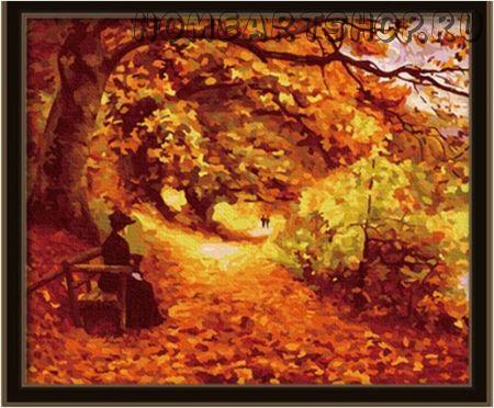 "Картина по номерам ""Осенний парк"""